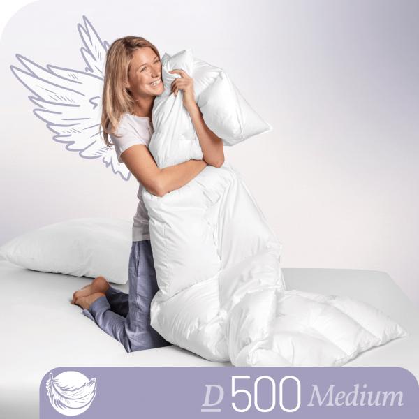 Schlafstil Daunenbettdecke D500, Medium, Titelbild