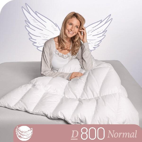 Schlafstil Gänsedaunenbettdecke D800, Normal, Titelbild