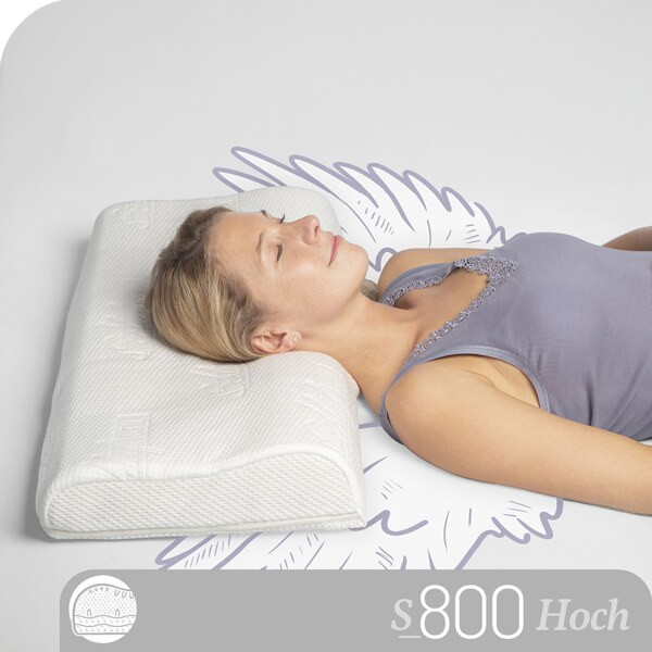 Schlafstil Talalay Latex Nackenstützkissen S800LS, Titelbild