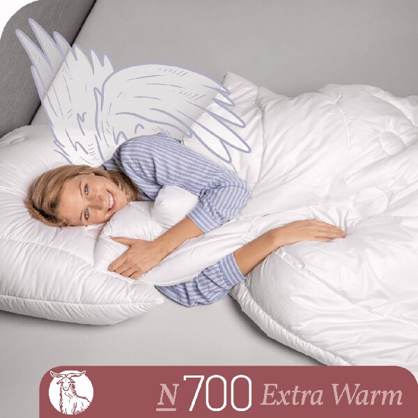 Schlafstil Cashmerebettdecke N700, Extra Warm, Titelbild
