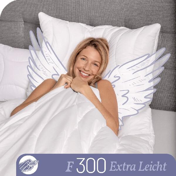 Schlafstil Faserbettdecke F300, Extra Leicht, Titelbild