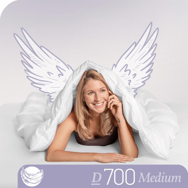 Schlafstil Gänsedaunenbettdecke D700, Medium, Titelbild