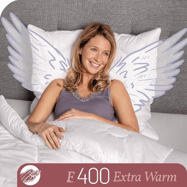 Schlafstil Faserbettdecke F400, Extra Warm, Titelbild