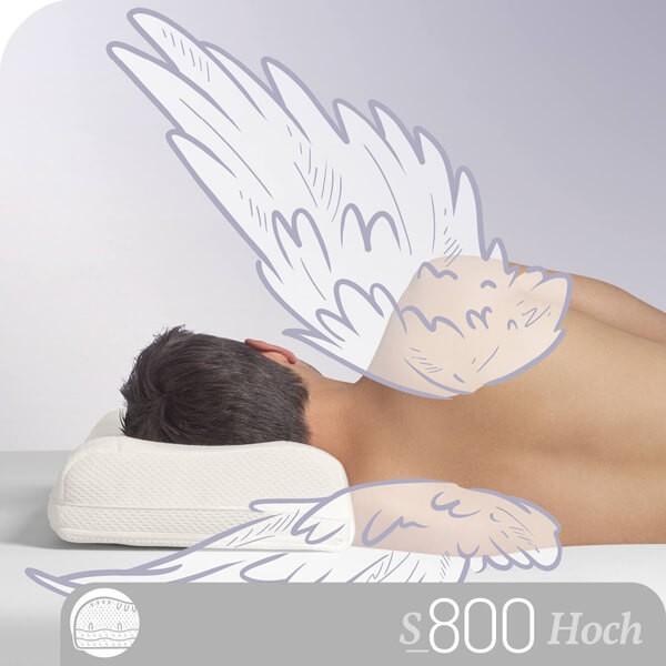 Schlafstil Visco Nackenstützkissen S800V, Titelbild
