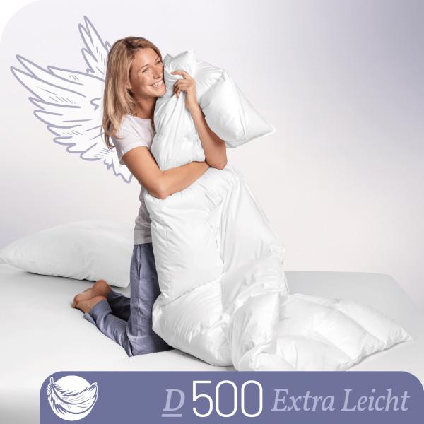 Schlafstil Daunenbettdecke D500, Ultraleicht, Titelbild
