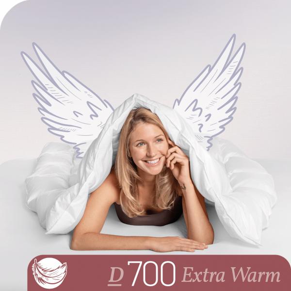 Schlafstil Gänsedaunenbettdecke D700, Extra Warm, Titelbild