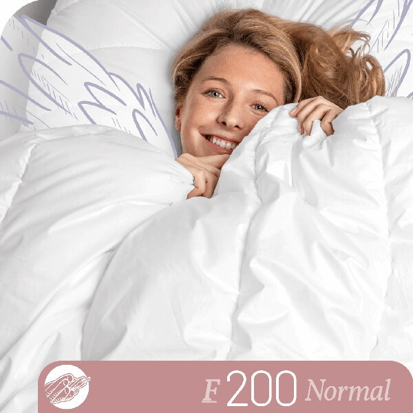 Schlafstil Faserbettdecke F200, Normal, Titelbild