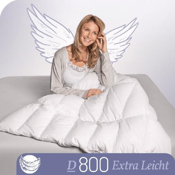 Schlafstil Gänsedaunenbettdecke D800, Extra Leicht, Titelbild