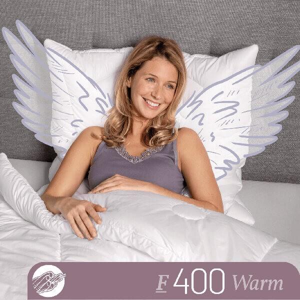 Schlafstil Faserbettdecke F400, Warm, Titelbild