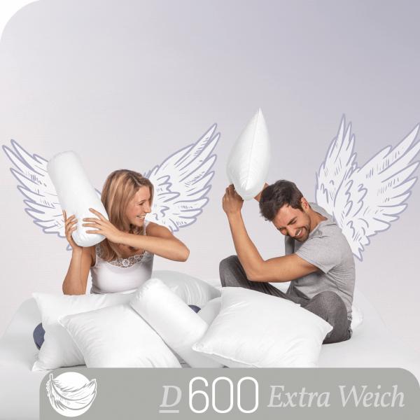 Schlafstil Gänsedaunenkissen D500, Titelbild