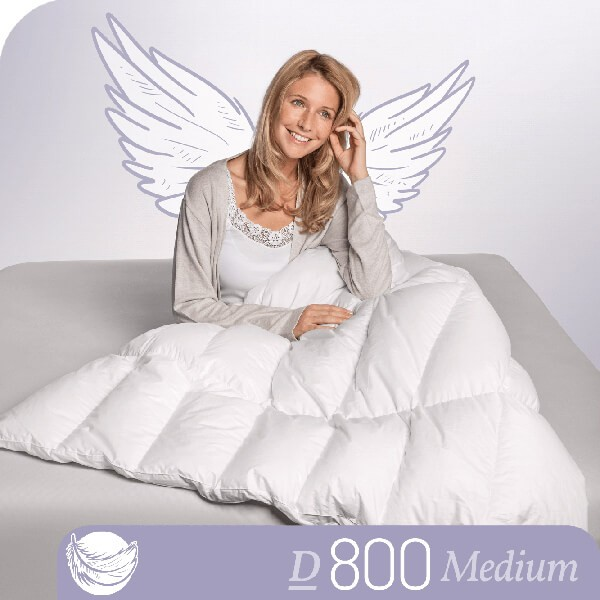 Schlafstil Gänsedaunenbettdecke D800, Medium, Titelbild