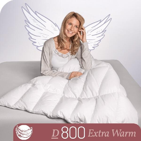 Schlafstil Eiderdaunenbettdecke D800, Extra Warm, Titelbild
