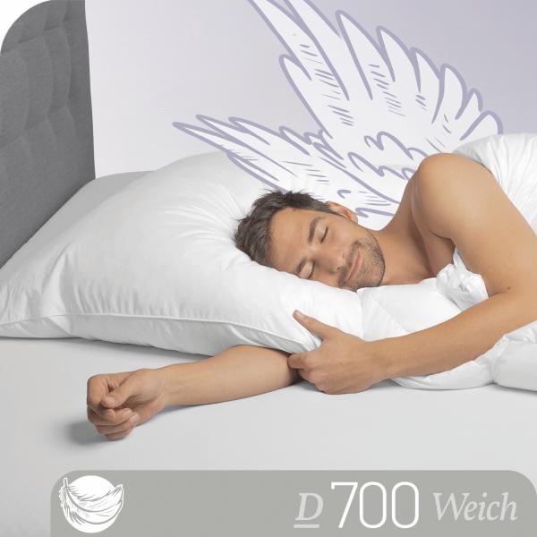 Schlafstil Gänsedaunenkissen D700, Titelbild