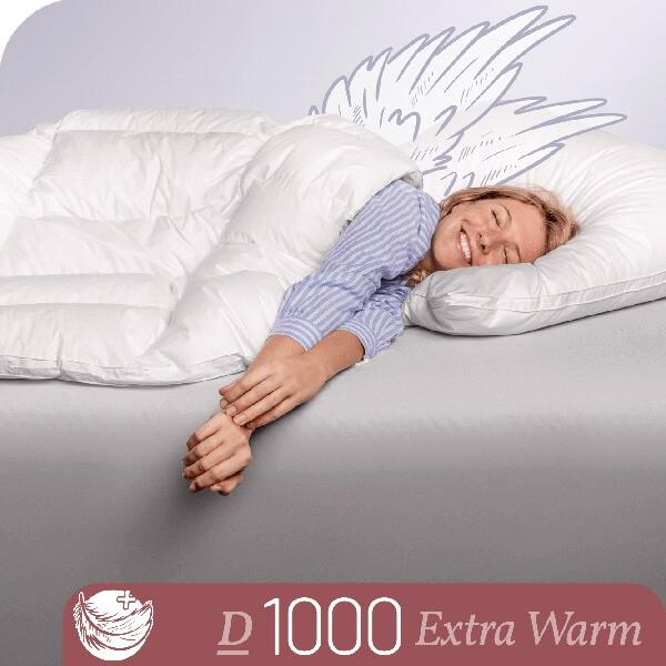 Schlafstil Eiderdaunenbettdecke D1000, Extra Warm, Titelbild