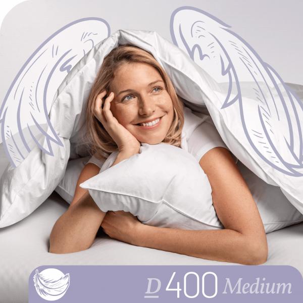 Schlafstil Daunenbettdecke D400, Medium, Titelbild