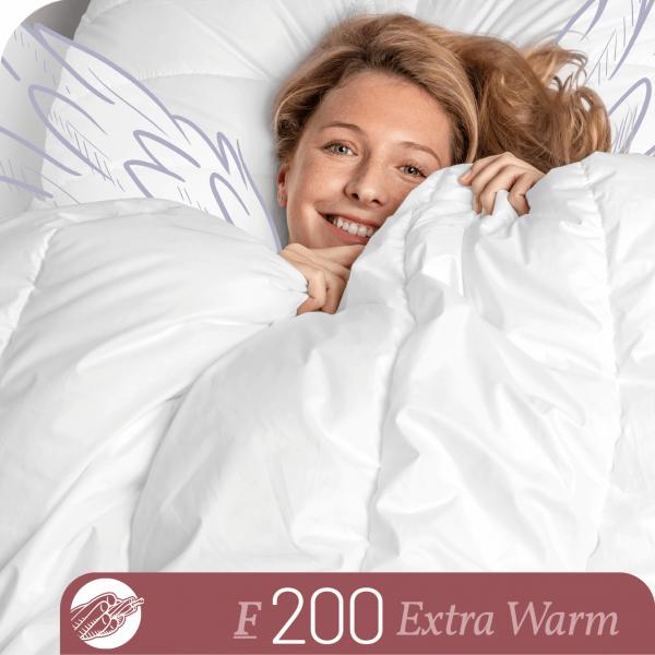 Schlafstil Faserbettdecke F200, Extra Warm, Titelbild