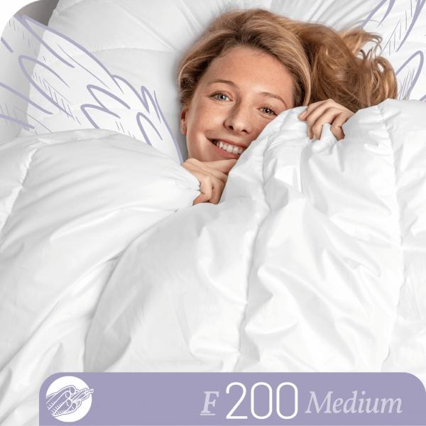 Schlafstil Faserbettdecke F200, Medium, Titelbild
