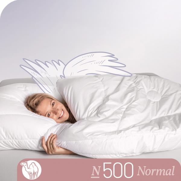 Schlafstil Kamelhaarbettdecke N500, Normal, Titelbild