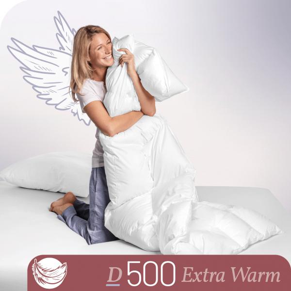 Schlafstil Daunenbettdecke D500, Extra Warm, Titelbild