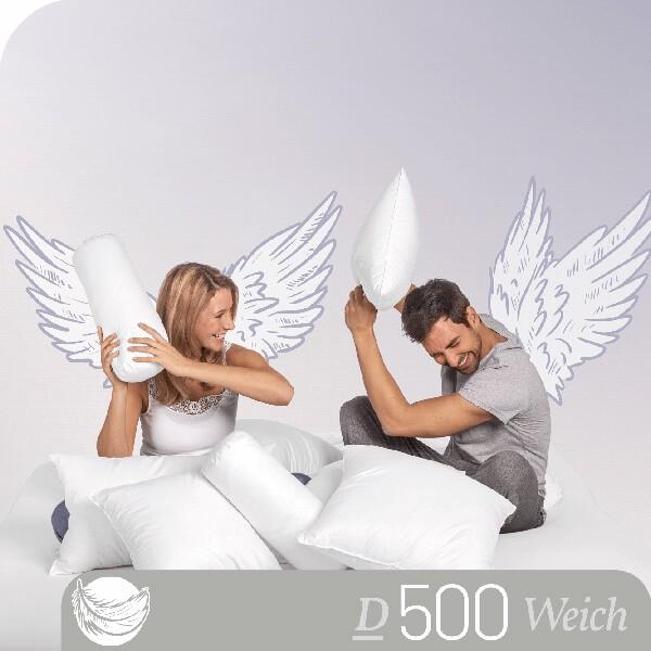 Schlafstil Daunenkissen D500, Titelbild