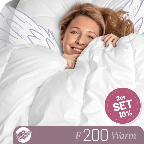Schlafstil Faserbettdecke F200, Warm, Titelbild