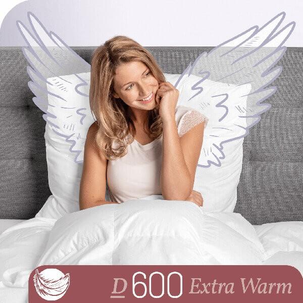 Schlafstil Gänsedaunenbettdecke D600, Extra Warm, Titelbild