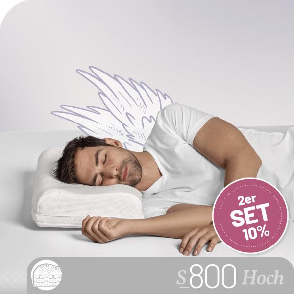 Schlafstil Talalay Latex Nackenstützkissen S800LM, Titelbild