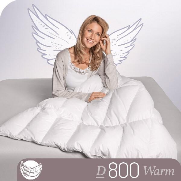 Schlafstil Gänsedaunenbettdecke D800, Warm, Titelbild