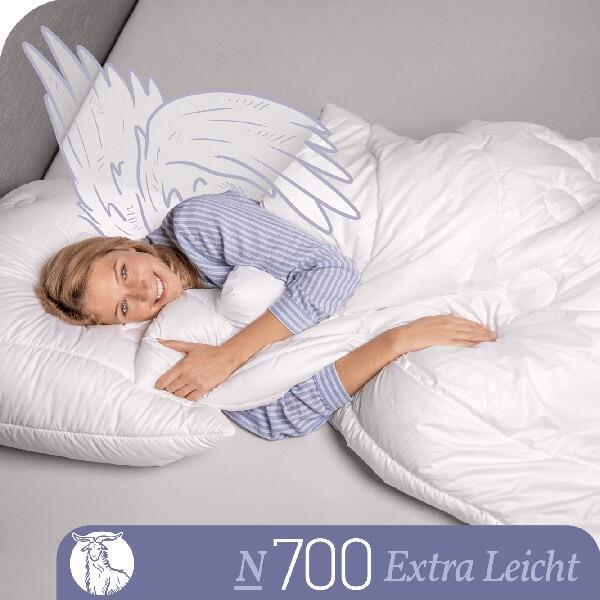 Schlafstil Cashmerebettdecke N700, Extra Leicht, Titelbild