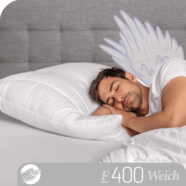 Schlafstil 3-Kammer Faserkissen F400, Titelbild