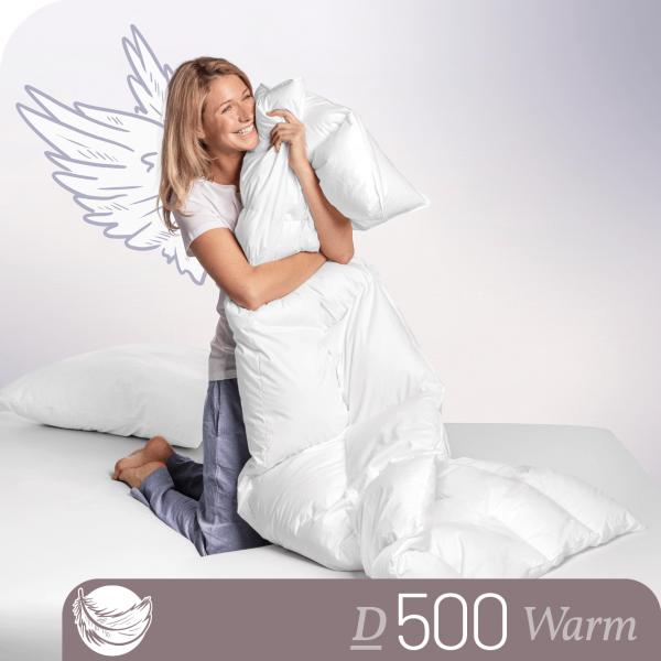 Schlafstil Daunenbettdecke D500, Warm, Titelbild